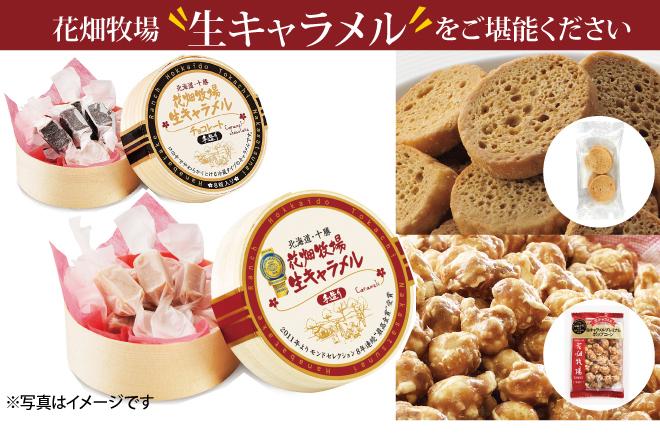 【冷蔵】生キャラメル&チーズのミニ堪能セット 生キャラメル商品