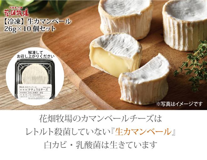 冷凍生カマンベール26g×10個セット